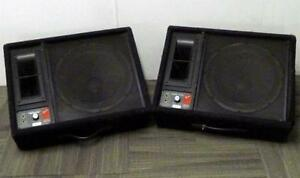 Fender 1275A Stage Monitors - 15 & Horn - Great Sound