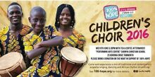African Children's Choir Touring TAMWORTH WED 8th June Tamworth Tamworth City Preview