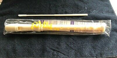 Plastic Recorder 3 pc. with plastic case and cleaning rod NEW