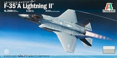 Italeri Lockheed F-35A Lighting II 1/32 scale airplane model kit new 2506
