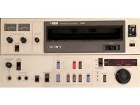 Vintage Professional Video Editor - Sony U-Matic, Lo Band.