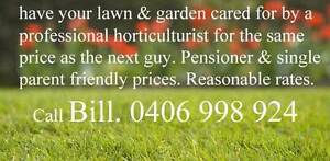 Lawn & garden care by a professional Mount Annan Camden Area Preview