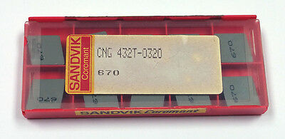 CNG 432T-0320 670 SANDVIK COROMANT (10 INSERTS)