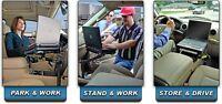 Support pour portable dans l'auto ou motorise