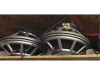 """Peavey Black Widow 15"""" drivers - 350 watts / 500 watts at 4 or 8 ohms"""
