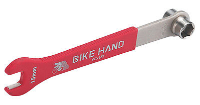 BICYCLE PEDAL AND CRANK BOLT WRENCH BMX MTB ROAD LOWRIDER CRUISER CYCLING BIKES