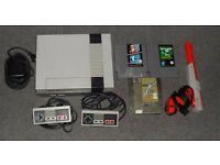 wanted - NINTENDO NES console & games
