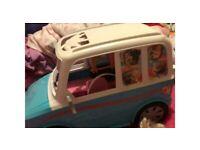 Barbie puppy van