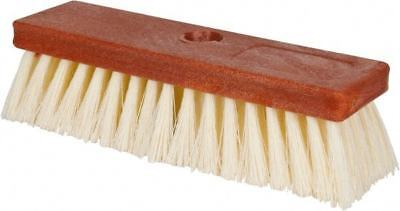 Pro-source Polypropylene Bristle Scrub Brush 10 Inch Overall Length Wood Blo...