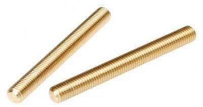 Solid Brass All Thread Threaded Rod Bar Studs 14-20 X 12