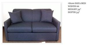 MIKES GOT ALL NEW CANADIAN MADE SOFA BEDS MANY COLOURS $699