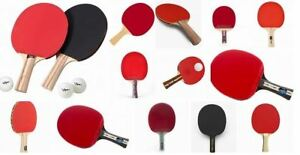 Used Table Tennis (ping pong) Rackets.