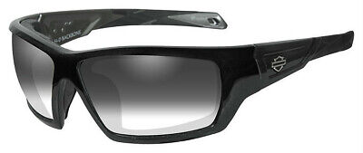 Harley-Davidson® Wiley-X Backbone Light Adjusting Gray Lenses Sunglasses (Light Adjusting Sunglasses)