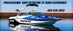 PROFESSOINAL BOAT DETAILING 15 YEARS EXPERIENCE 403-816-7855