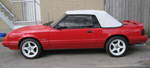 1983 Ford Mustang GLX Convertible Showroom Condition