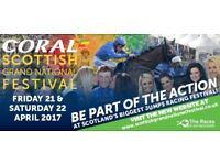 Scottish Grand national ticket for sale