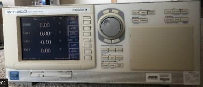 Yokogawa Wt1600 Digital Power Analyzer Meter