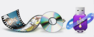 Service to convert DVD movie files to MPEG4/USB video file