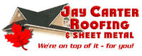 EXPERIENCED ROOFING & SIDING SHEET METAL / ALUMINUM INSTALLERS