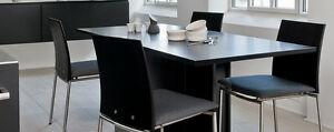75% OFF RETAIL!! Multi-Function SKOVBY Dining Table sits 2-6 London Ontario image 5