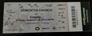 $60/each Edmonton vs Calagry on September 8th 5PM game
