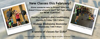 New fitness classes in Bedford West - free trial!