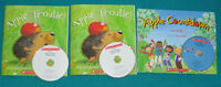 Primary Reading Books with CDs Apple theme