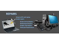 Laptop -PC and Electronic Repairs for users Home, Office, Student,Gamers.NO FIX NO FEE