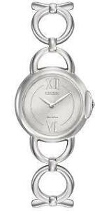 Citizen Women's 'Eco-Drive Jolie' Quartz Stainless Steel Dress EX1450-59A