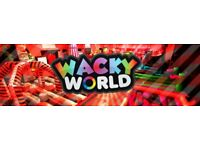 Wacky World Tickets x4 For Dundee