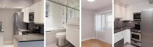 See Downtown and Mcgill University from your NEW RENOVATED 3 1/2