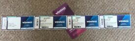 Full weekend ticket for sale due to unforeseen circumstances my step daughter can't go...