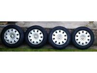 VW T5 Steel Wheels With Kleber Transalp 2, Winter Tyres