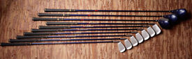 Wilson Firestick Graphite shaft Irons and woods set