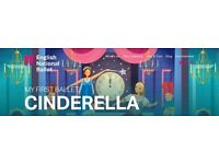 Cinderella - My First Ballet tickets, Bristol Hippodrome Sunday 21st May, 3pm