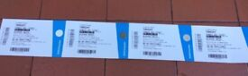 SUN 1ST JULY - ARTIC MONKEYS AND MORE ARTISTS. 4 TICKETS FOR SALE for FACE VALUE £65 each