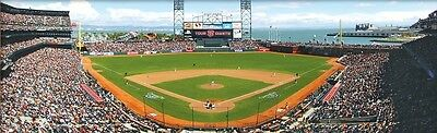 Jigsaw Puzzle Mlb San Francisco Giants At T Park Stadium New 1000 Piece