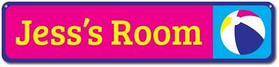 Beachball Sign, Personalized Kid Name Room Sign, Custom Child Sign ENSA1002096](Custom Beachballs)