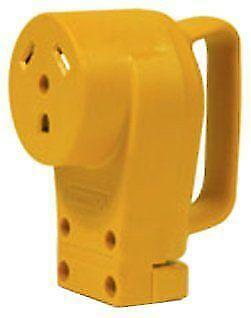Camco Power Cord Plug 30 AMP Electric Connector Female Travel Trailer RV GW-NEW
