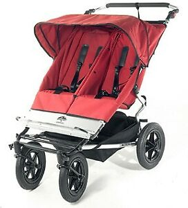 Mountain Buggy Double Duet Stroller (like new)