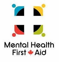 Mental Health First Aid training in Wolfville, Oct. 22 & 23!