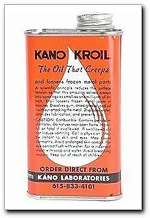 Kroil Lubricants Penetrating Oil Oz. Liquid Kroil