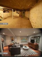 basement finishing from standard to high end projects.