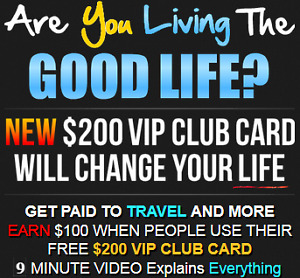 VIP Travel Discount Card