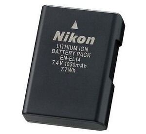 Nikon EN-EL14 Brand New D5500 D5100 D3200 D3100 P7100 Battery