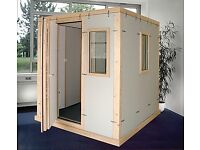 STUDIOBOX Professional. Acoustic Booth for music practice, recording... Isolation Booth, Soundproof.