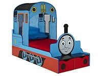Thomas the Tank Engine toddler bed with under bed storage