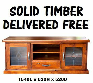 BRAND NEW Lowline TV Unit - SOLID Timber - DELIVERED FREE New Farm Brisbane North East Preview