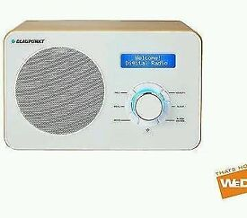 Blaupunkt NE-6100 Contemporary DAB FM Digital Portable Radio £28 RRP £45