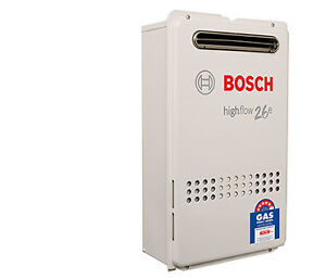 Bosch Electronic Highflow Hot Water System 26e - YS2670RA5 Natural or LP Gas